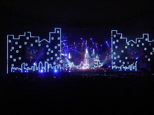 舞台的全景