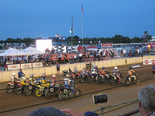 Lucas Oil Flat Track Nationals 08