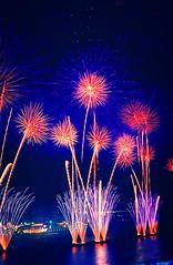 Beautiful Blues (EpicFireworks) Tags: stars fireworks guyfawkes firework burst pyro 13g epic barrage pyrotechnics