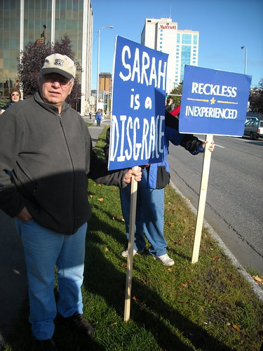 Alaskans for Truth Rally, Anchorage