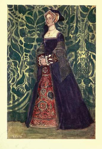 14- Vestimenta mujer epoca Enrique VIII (1509-1547)