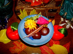 Autumn Altar, close up
