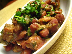red beans with chorizo