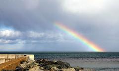 rainbow arc (turgidson) Tags: blue ireland red sea irish orange macro green ex yellow canon coast dc rainbow violet indigo sigma dslr wicklow f28 bray irishsea 1850mm redorangeyellowgreenblueindigoviolet 50club 40d mywinners sigma1850mmf28exdcmacro canon40d 40deurope