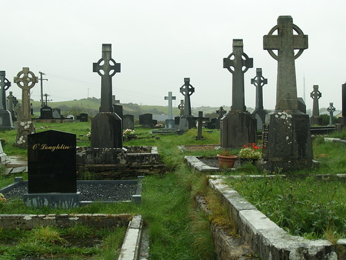 "Ennistymon Graveyard • <a style=""font-size:0.8em;"" href=""http://www.flickr.com/photos/75673891@N00/2922247983/"" target=""_blank"">View on Flickr</a>"