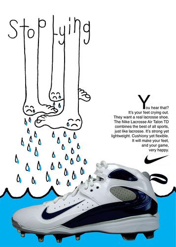 Nike Lacrosse Ad