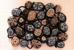 Kaleidoscope cane beads