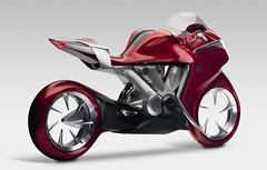 Honda V4 motorcycle concept pictures