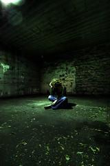 Sad Shlyuha (Universal Stopping Point) Tags: shadow green halloween dark parkinglot sad lexington kentucky emo ish russian sophia dank ladyofthenight shlyuha shluha darknessaltered