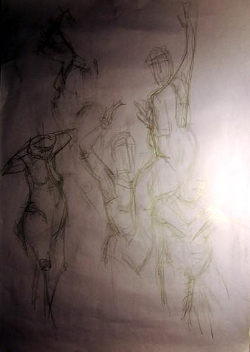 9/10 Gesture Drawings