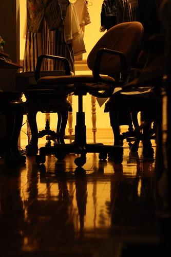 Store room chair n cloths