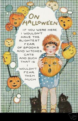 On Halloween (by senses working overtime)