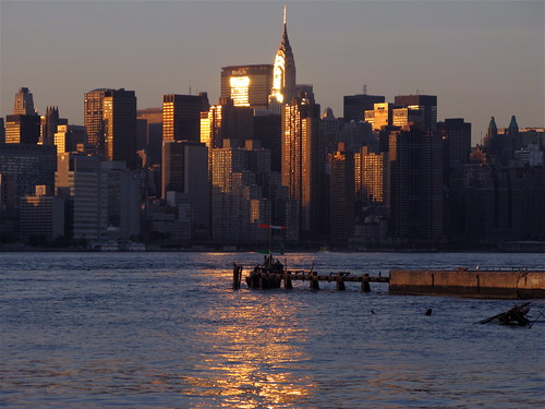 Manhattan at sunset, 2
