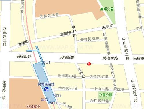 你拍攝的 map2。
