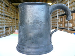 Lead Tankard-CUT78