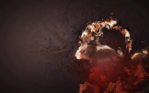 Ubuntu 8.10 Intrepid Ibex Wallpapers - earthenibex-edit