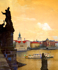 0275 Prague through my world...!! (duiliopianelli) Tags: cubism themoulinrouge supershot abigfave anawesomeshot aplusphoto thegoldenmermaid goldstaraward