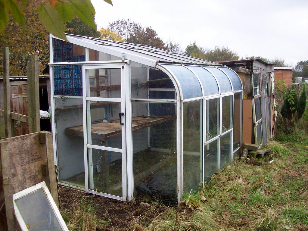 greenhouse fixed up