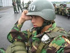 ready to jump (rizky elfikar) Tags: bandung cadet tni terjun taruna akmil akabri