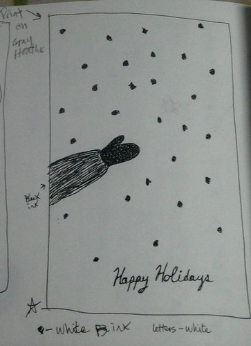 Holiday card design 1
