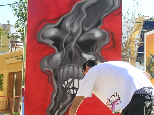 Al estilo scary movie. Grafiti 56.