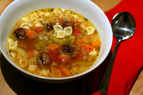Sausage minestrone 2