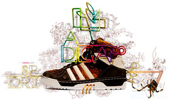 adidas 1984 (ignacio huizar) Tags: color shoes ligth adidas diseo ilustration ilustracion grafico