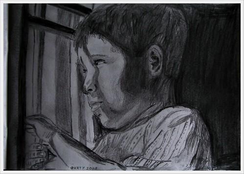 Dachu Pencil Sketch