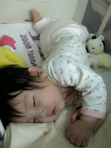 Pose 1_睡著