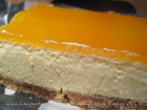 Passion Fruit Cheesecake - Princi in Soho, London