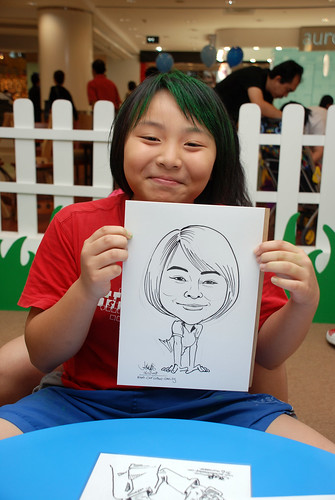 caricature live sketching for West Coast Plaza day 2 - 32