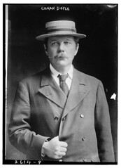 Conan Doyle  (LOC) (The Library of Congress) Tags: man hat katie great movember moustache libraryofcongress doyle mustache sherlockholmes author strawhat authors skimmer basher sirarthurconandoyle porkpie arthurconandoyle strawboater sennit xmlns:dc=httppurlorgdcelements11 dc:identifier=httphdllocgovlocpnpggbain12334 greatmustachesoftheloc openlibrary:author=ol2623297a