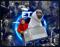 E.T.- The Extra-Terrestrial (gorigo) Tags: blue space et terrestrial extra blend the gorigo goripanda