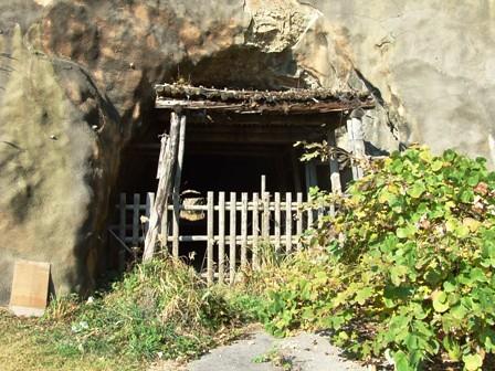 笹川流れの旧トンネル~今川地区