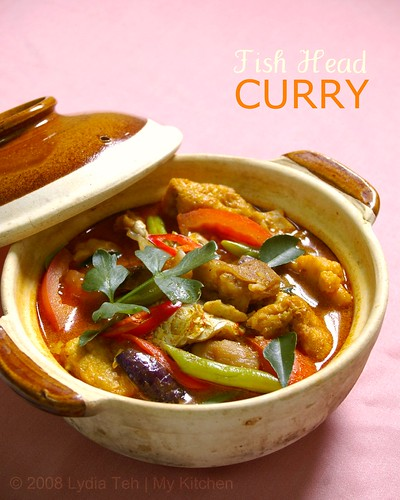 My Kitchen: Fish Head Curry [咖喱鱼头]