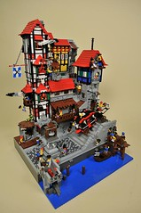 Le Quartier Brique / PTV-Large (1) (Capt. 5p8c3) Tags: village lego pirates pillage