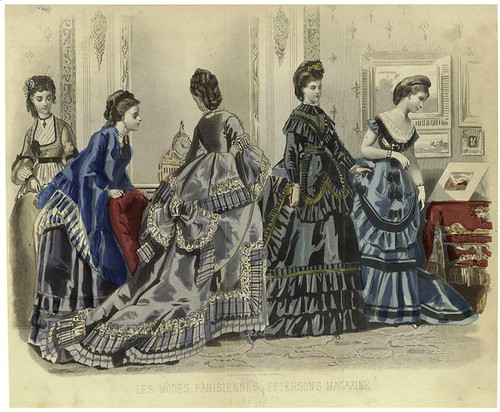 006-Les modes parisiennes, Peterson's magazine, June 1870.