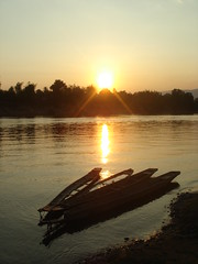 DSC07147 (edhedley) Tags: sunset february laos 2008 sekongriver attapeuprovince