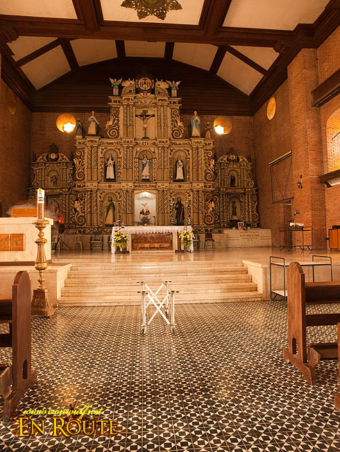 Boac Cathedral Altar