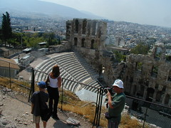 Theatre (Odeon Herod Atticus) from the Acropolis