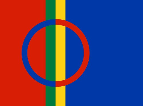 Sámi flag by christopher.forster, on Flickr