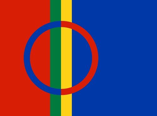Bandera Sami.