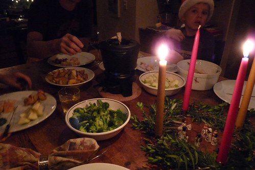 annual fondue feast
