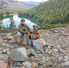 Mary and Bill, Upper Sardine Lake