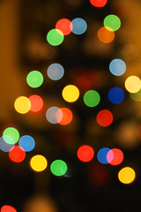 Christmas tree bokeh (mai_in_LA) Tags: christmas light tree luz arbol navidad lumiere feliz natale nel argi zuhaitz eguberria