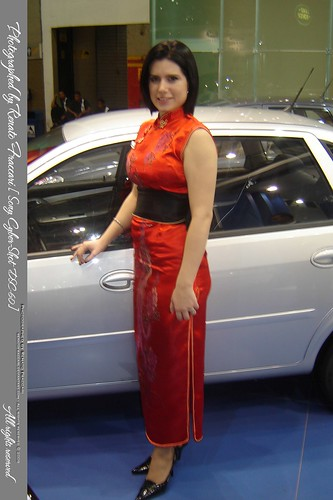 Musas Do Salão Do Automóvel