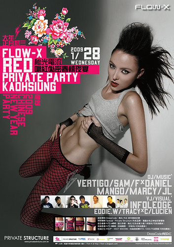 你拍攝的 20090128_FlowX_Poster500。