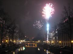 Queima de fogos, Herengracht from Rozengracht