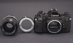 Canikkor A-1 (Skink74) Tags: camera 20d lens adapter nikkor canona1 eos20d asahi50f17 asahismcpentaxm50mmf17pk nikkor35mm114ai