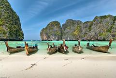 Maya Bay - Koh Phi Phi, Thailand (Souvik_Prometure) Tags: thailand day clear phuket kohphiphi longtailboat sigma1020mm mayabay lalandscape theunforgettablepictures kokphiphi souvikbhattacharya